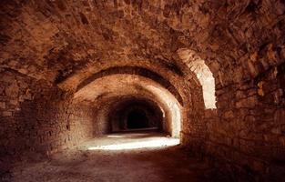 oude tunnel foto