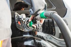 benzinestation foto