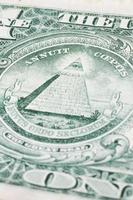Amerikaanse dollar detail foto