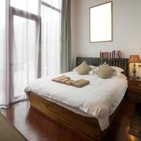 interieur design: klassieke slaapkamer foto