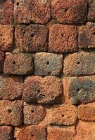vintage stenen muur achtergrond foto
