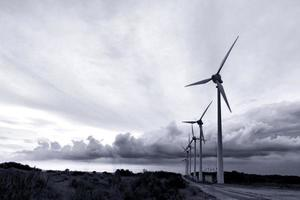 bozcaada windmolens foto