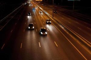 snelweg 's nachts