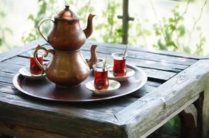 Turkse thee foto