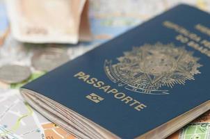 Braziliaans paspoort foto