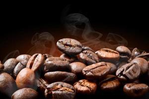 koffie branden foto