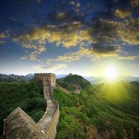 beijing grote muur foto