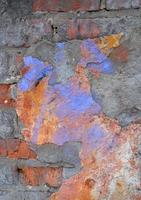 achtergrond van bakstenen muurtextuur foto