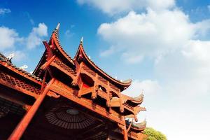 Chinese oude gebouwen van lokaal foto