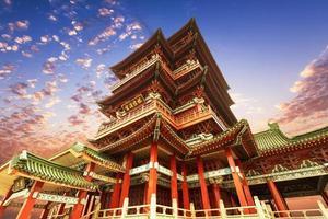 Chinese oude architectuur, oude religieuze foto