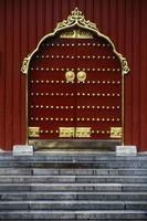 Chinese tempeldeur
