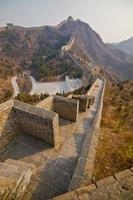 grote muur van China foto