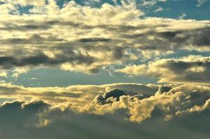 wolk foto