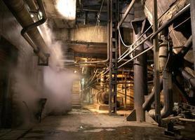 oude verlaten fabriek foto