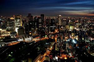 Osaka drijvende tuin foto