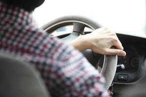 een auto rijden foto