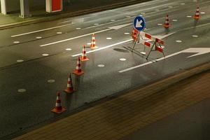 wegenbouwplaats foto