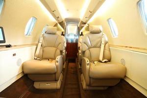 privé jetcabine achterzijde