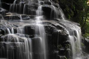 Wentworth Falls, Blue Mountains, Australië in de buurt van Sydney foto