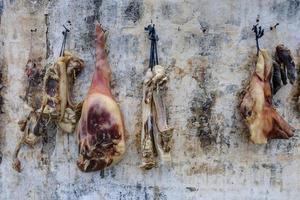 gezouten vlees foto