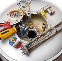 reparatie boiler foto