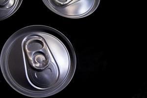 aluminium blikjes foto