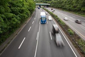 auto's versnellen