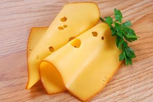 kaas met peterselie