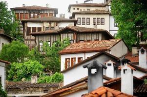 ottoman safranbolu oude huizen foto