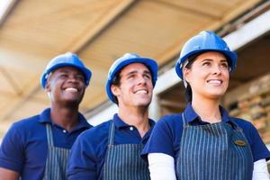 ijzerhandel werknemers foto