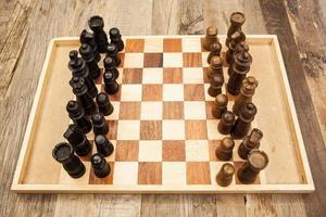 schaakbord foto