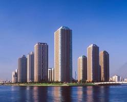 hoogbouw appartementengebouw foto