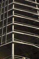 betonnen hoogbouw bouwplaats foto