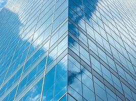 modern glazen gebouw