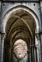 middeleeuwse en gotische boog foto
