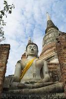 Boeddha Ayutthaya foto