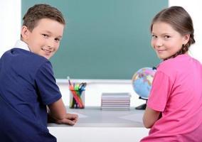 schoolkinderen foto