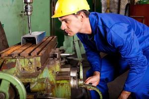 professionele machinist