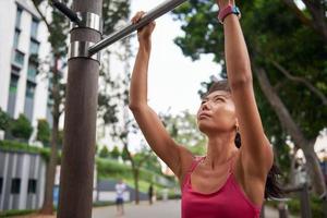 fitness vrouw gym foto