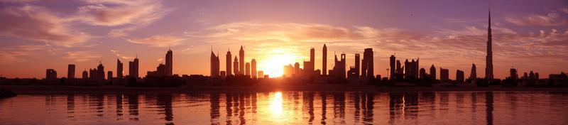 stadsgezicht, Dubai foto
