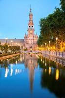 espana plaza sevilla spanje foto