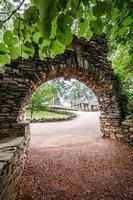 boog in gillette castle staatspark foto