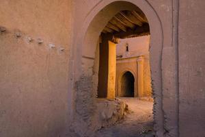 architectuur van marokko foto
