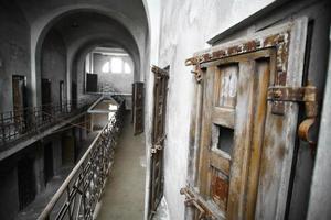 verlaten gevangenis foto