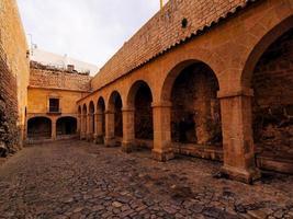patio de armas in ibiza stad foto