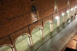 boog van baksteen in Brugge