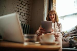 technologie verandert de zakenwereld foto