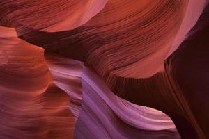 antilope slot canyon kleuren foto