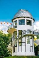 bouw van planetarium in minsk, wit-rusland foto