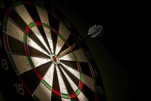 pijlen en darts doel foto
